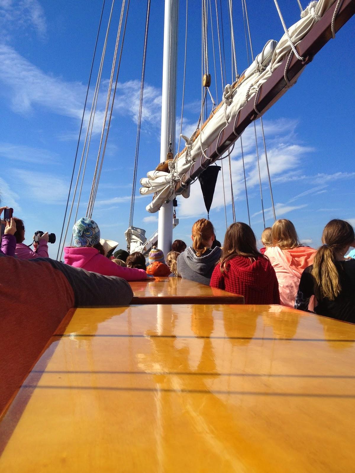 Teachable Moments: SoundWaters: Schooner Sail