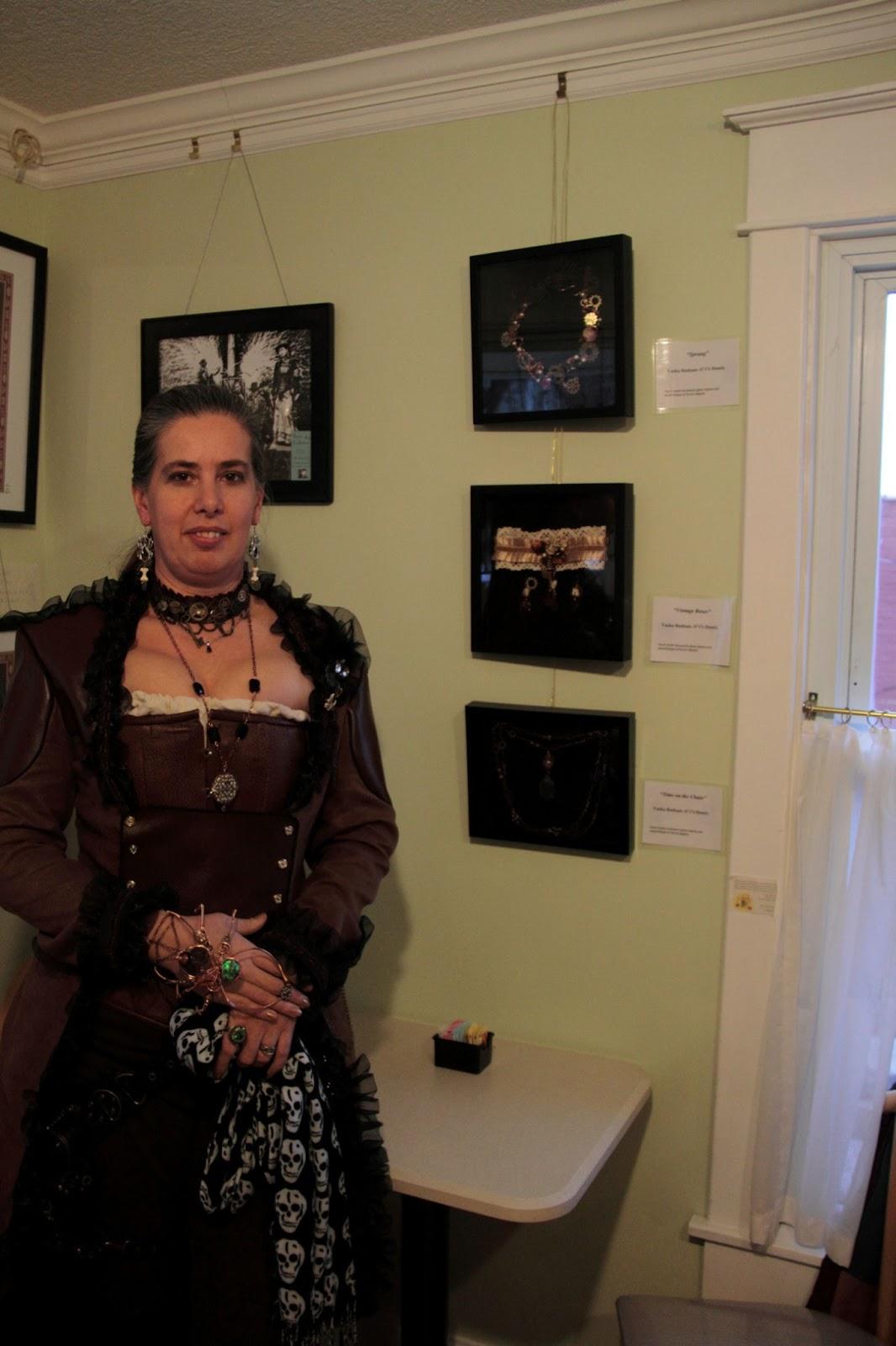 Jenna Tomlin Aka Sydney Stirling Artist Jeweler