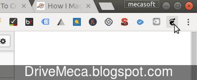 Ya tenemos en google chrome un icono de gnome en su barra