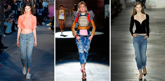 Denim Fashion on the Runway