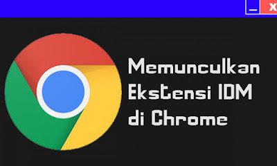 Cara Mengatasi Ekstensi IDM Tidak Muncul di Google Chrome