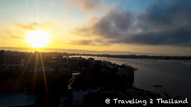 Sunrise over Kwan Phayao in North Thailand