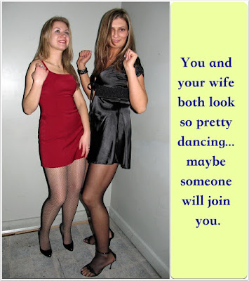 Looking pretty Sissy TG Caption - World TG Captions - Crossdressing and Sissy Tales and Captioned images