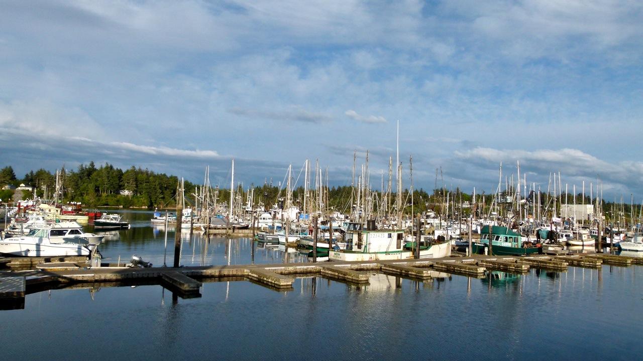 Rv short stops charleston ore a working fishing village for Charleston fishing com