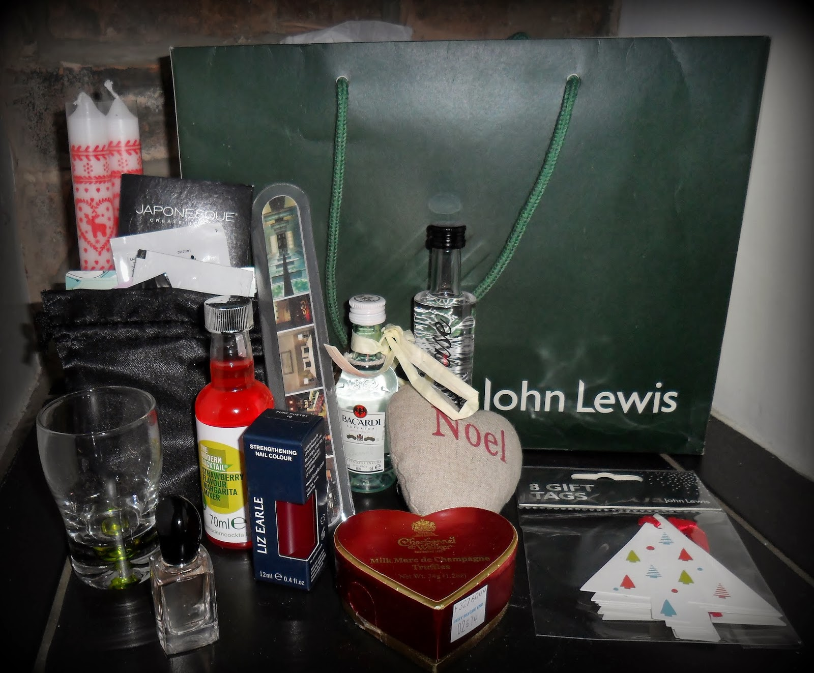John Lewis Press Event, Charbonnel et Walker chocolates, Liz Earle Nail Polish, Kuku Club