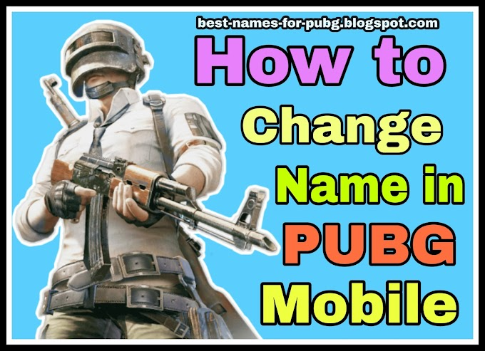 Funny & Cool Best Names for PUBG [*NEW*] PUBG Names Ideas