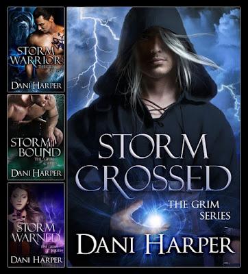 covers, paranormal romance, The Grim series, Dani Harper, fae
