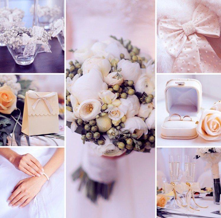 105 idées décoration mariage – fleurs, sucreries et bougies ...
