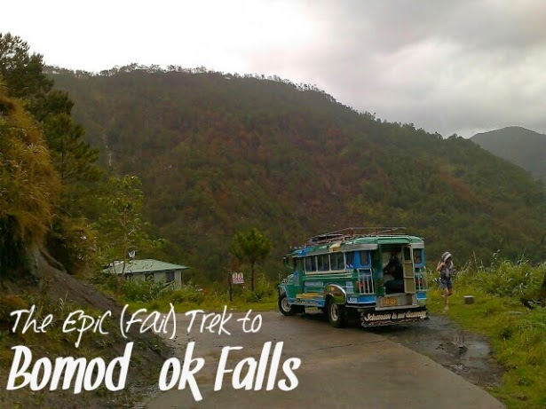 The Epic (Fail) Trek to Bomod-ok Falls