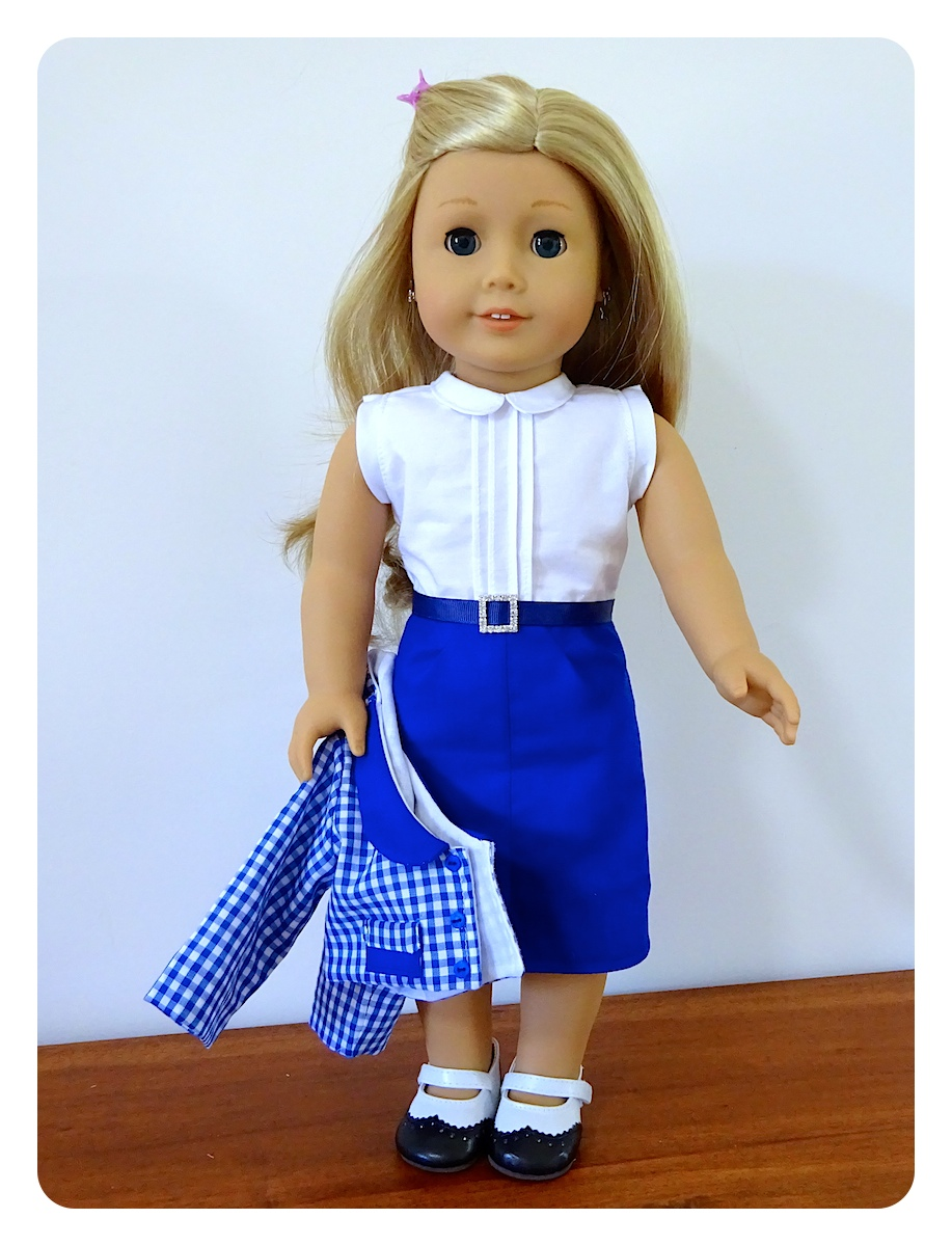 Doll clothes patterns by valspierssews: 50s styles from human to ...