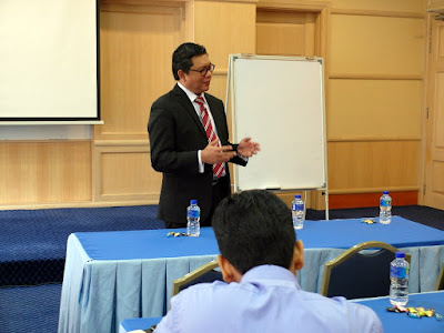 Explanation of Key Economic Terms & Effective Writing Skills by Azmi Shahrin at MOF on 20-21 July 2016