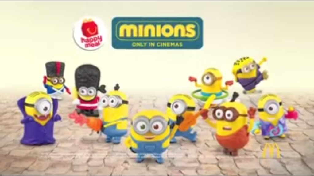 GeekMatic!: McDo Happy Meal 2015: Minions Worldwide!