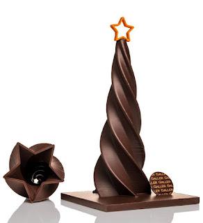 Sapin Galler en chocolat