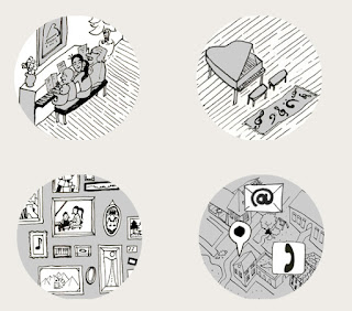 Webdesign + Illustration Klavierschule Berenstein