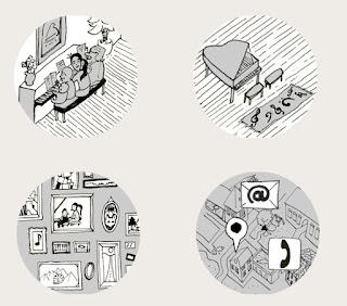 Webdesign + Illustration Klavierschule Berenstein