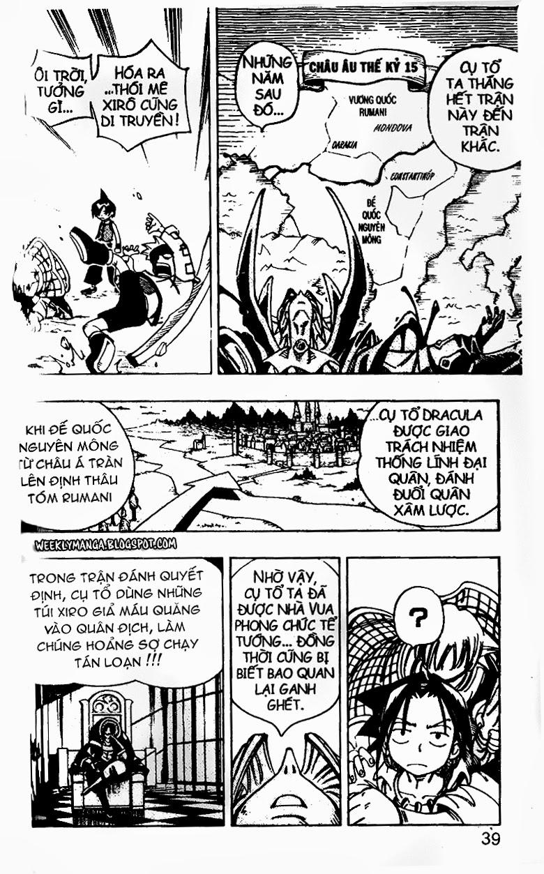 Shaman King [Vua pháp thuật] chap 99 trang 9