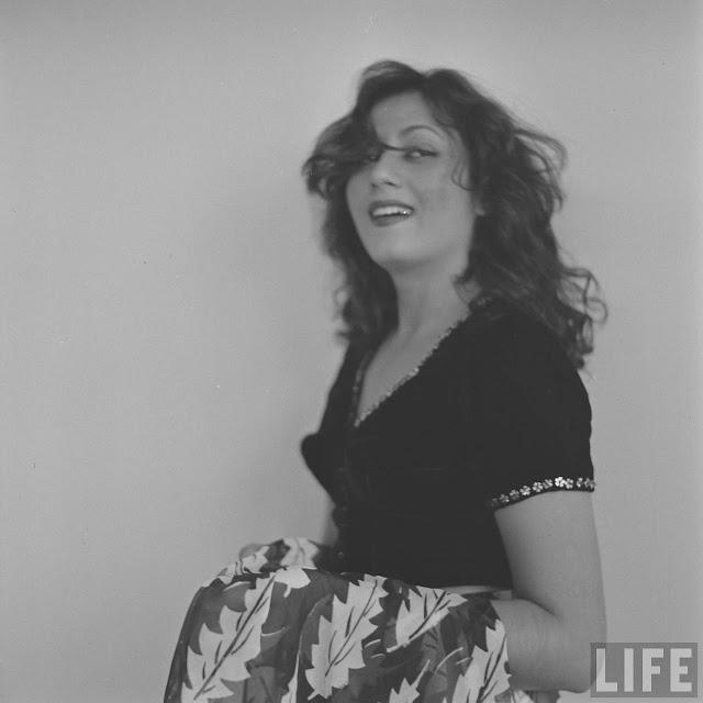 Madhubala Glamour Photoshoot By Life Magazine Photographer