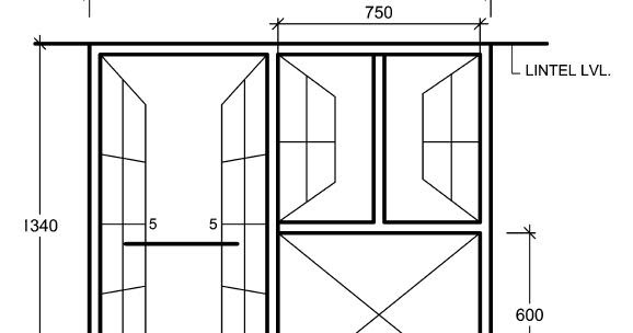 Standard Sizes Of Doors Windows For Residential Buildings In Indian Conditions