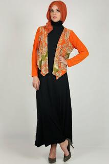 Model Cardigan Batik Modern untuk Kerja