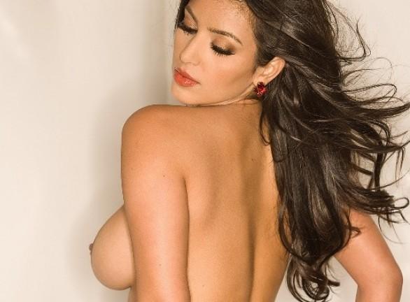 Ex girlfriend half naked