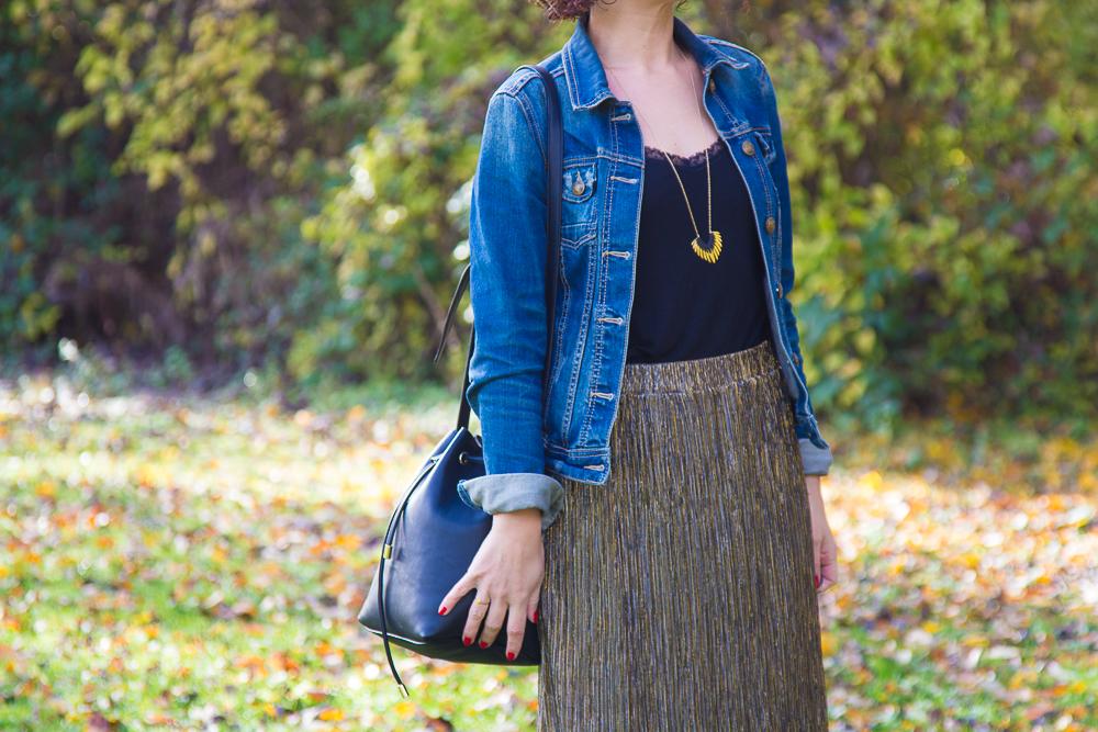 jupe - longue - promod - look