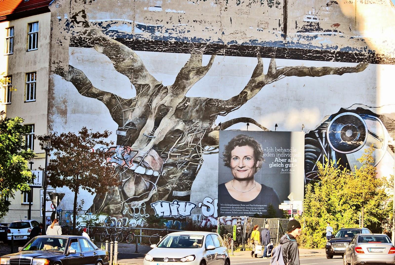 grafitii w berlinie