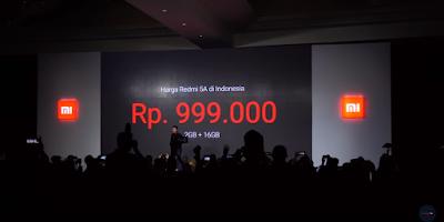 Kamu bisa memesan smarphone redmi 5A ini pada tanggal 27 desember 2017 di Lazada, maupun di kios Xiomi yang berada di seluruh indonesia.