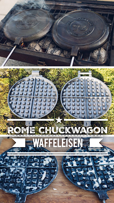 Gear of the Week #GOTW KW 07 | ROME Chuckwagon Waffeleisen | Cast-Iron Waffle-Iron | Outdoor-Waffeleisen
