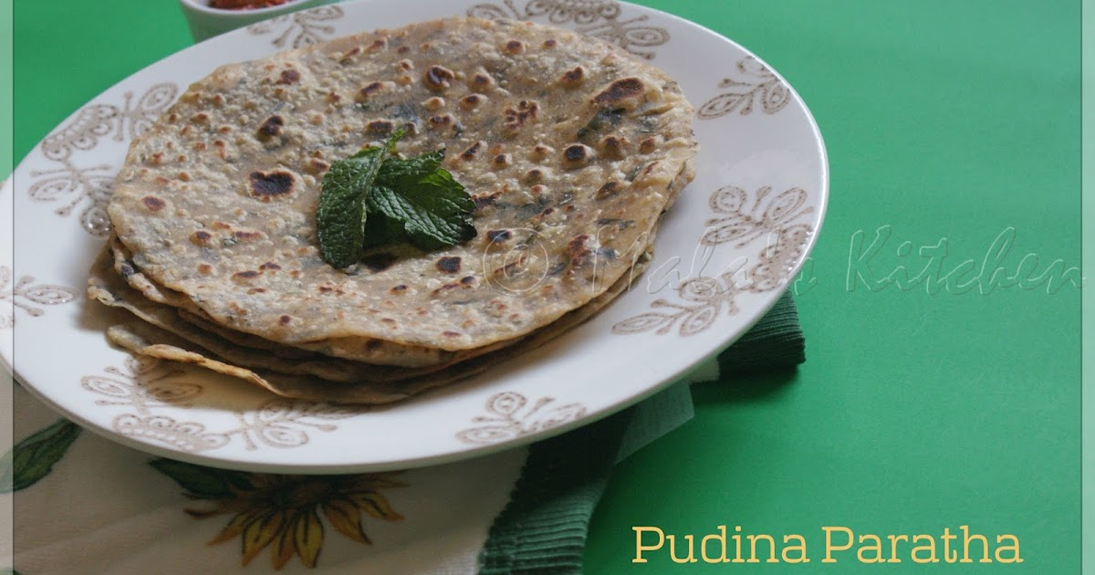 Pudina Paratha Hebbar S Kitchen