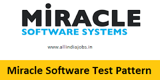 Miracle Software Systems Test Pattern