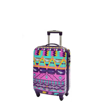 Four wheel suitcases