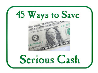 great ways to save cash