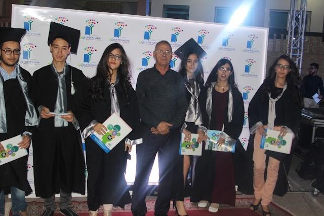 بالفيديو .. مجموعة مدارس المنبت 1 ببرشيد تحتفي بتلاميذها المتفوقين في الباكالوريا + صور