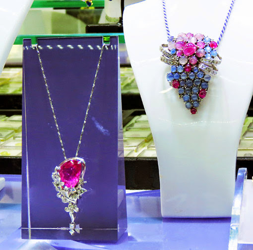 Great Sapphire and Ruby Jewelry