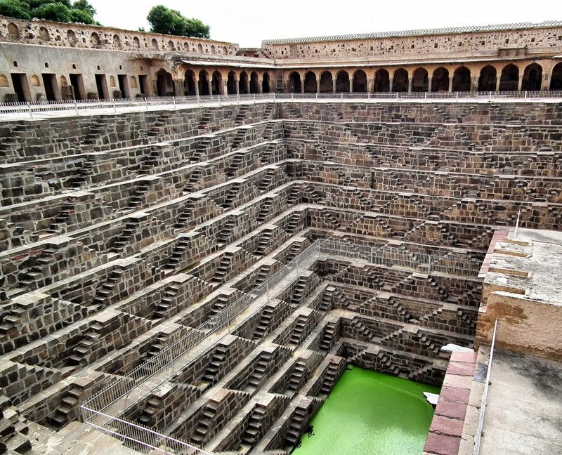 chand baori the biggest step well in the world