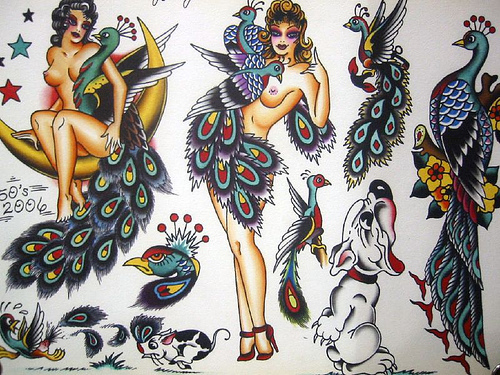 Vintage Tattoo Flash Art 84