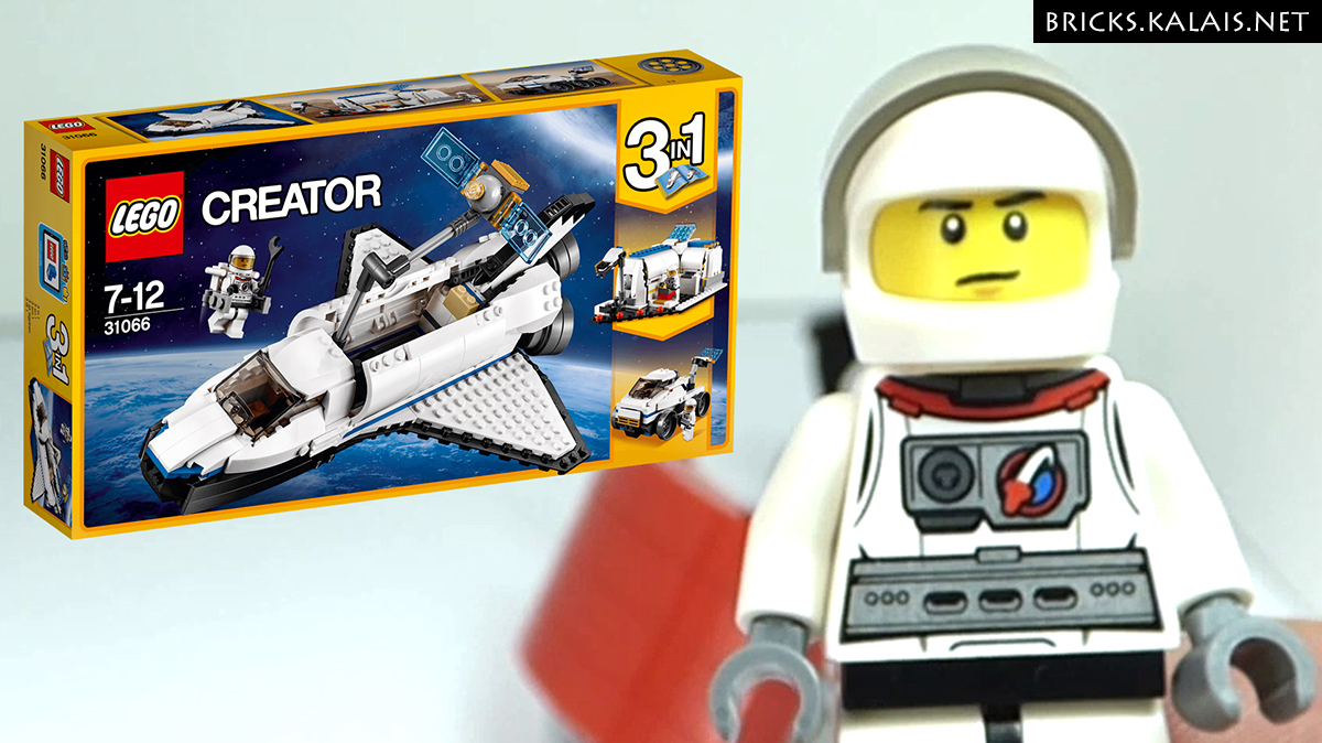 [BRICKFILM] LEGO 31066 Space Shuttle Explorer - Back to school
