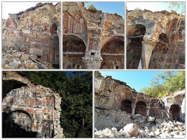 Καταρρέουν τα βορειοηπειρώτικα μοναστήρια - Λεηλασίες μνημείων στη Νότια Αλβανία