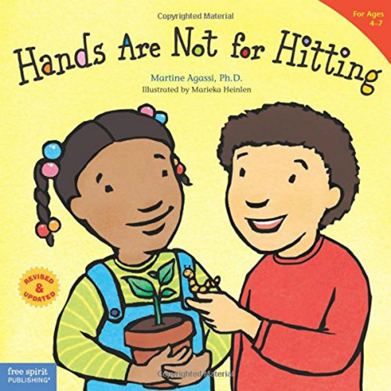 stop hitting book  - Children's books about emotions and feelings for preschoolers