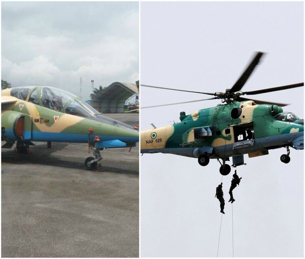 Nigerian Airforce joins Operation Python