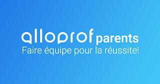 Alloprof pour les parents: la bonne nouvelle que je souhaitais vous partager...