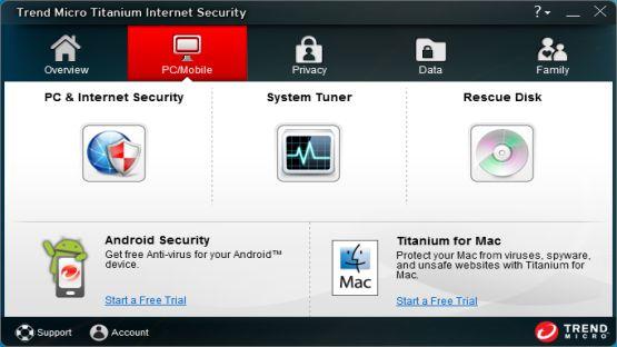 Trend Micro Titanium 2013 screenshot 4