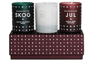 Skandinavisk Christmas Candle set