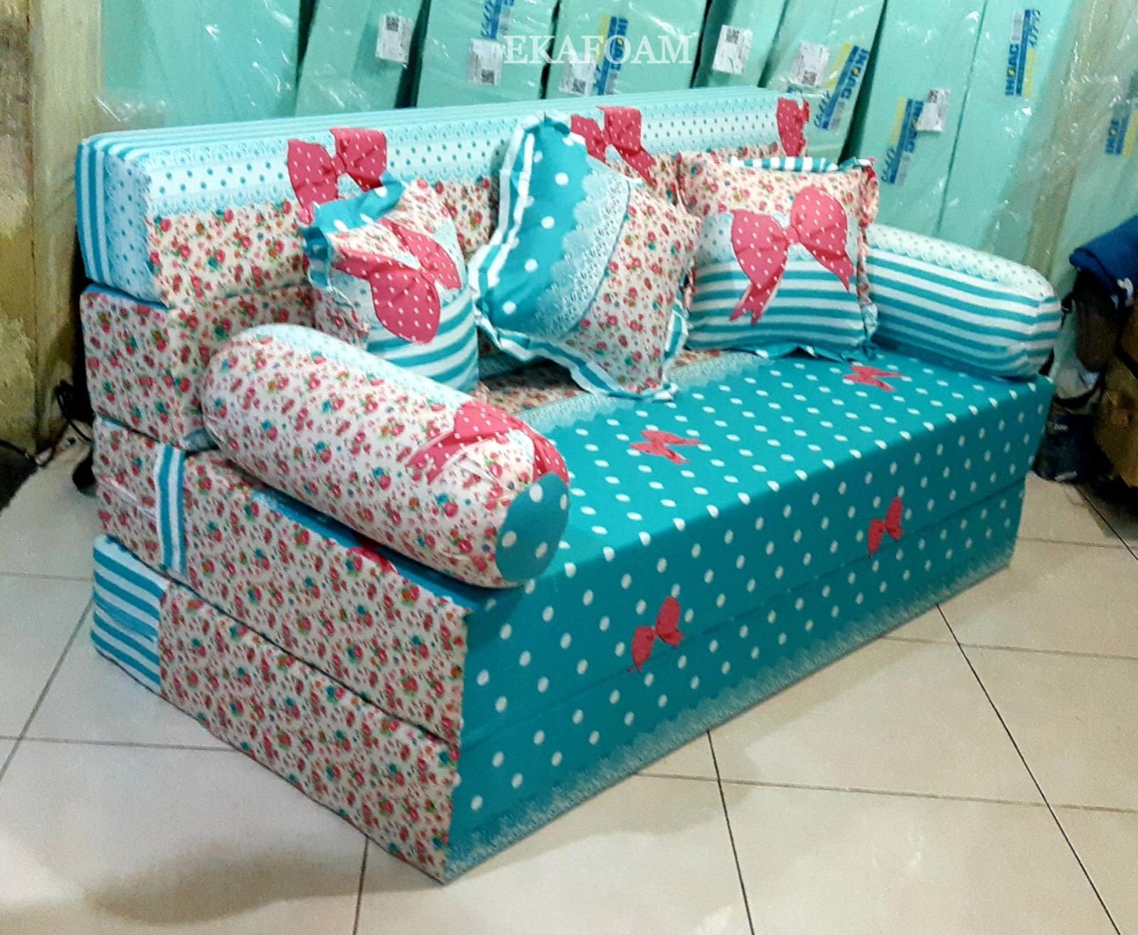 Sofa Bed Inoac 2019 Full Motif Agen Resmi Kasur Busa