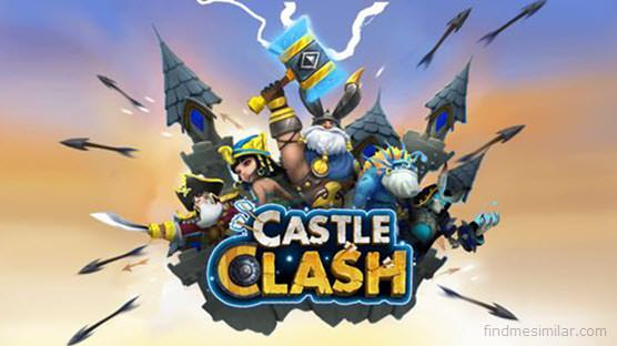 Castle Clash a games like clash of clans