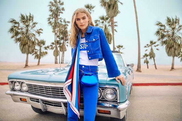 Moda primavera verano 2019 │Camperas y pantalones de jeans primavera verano 2019 Kosiuko.
