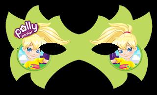 Mascara de Polly Pocket para imprimir gratis.
