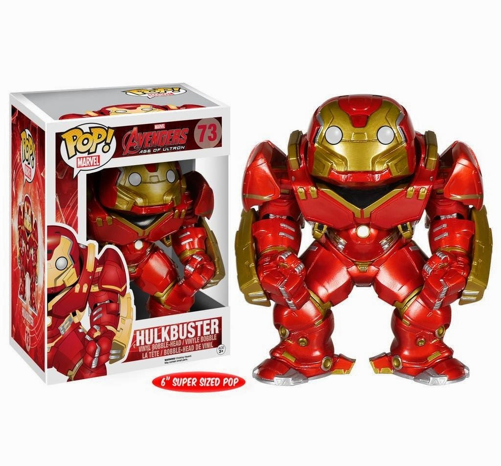 Hulkbuster Iron Man Avengers: Age of Ultron Pop! Marvel Vinyl Figure by Funko