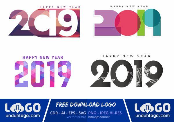 Logo Tahun Baru 2019