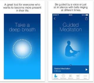تطبيق, اندرويد, للتأمل, وتحسين, الحالة, الذهنية, Mindfulness app